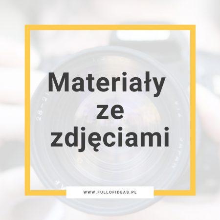 Materiały ze zdjęciami